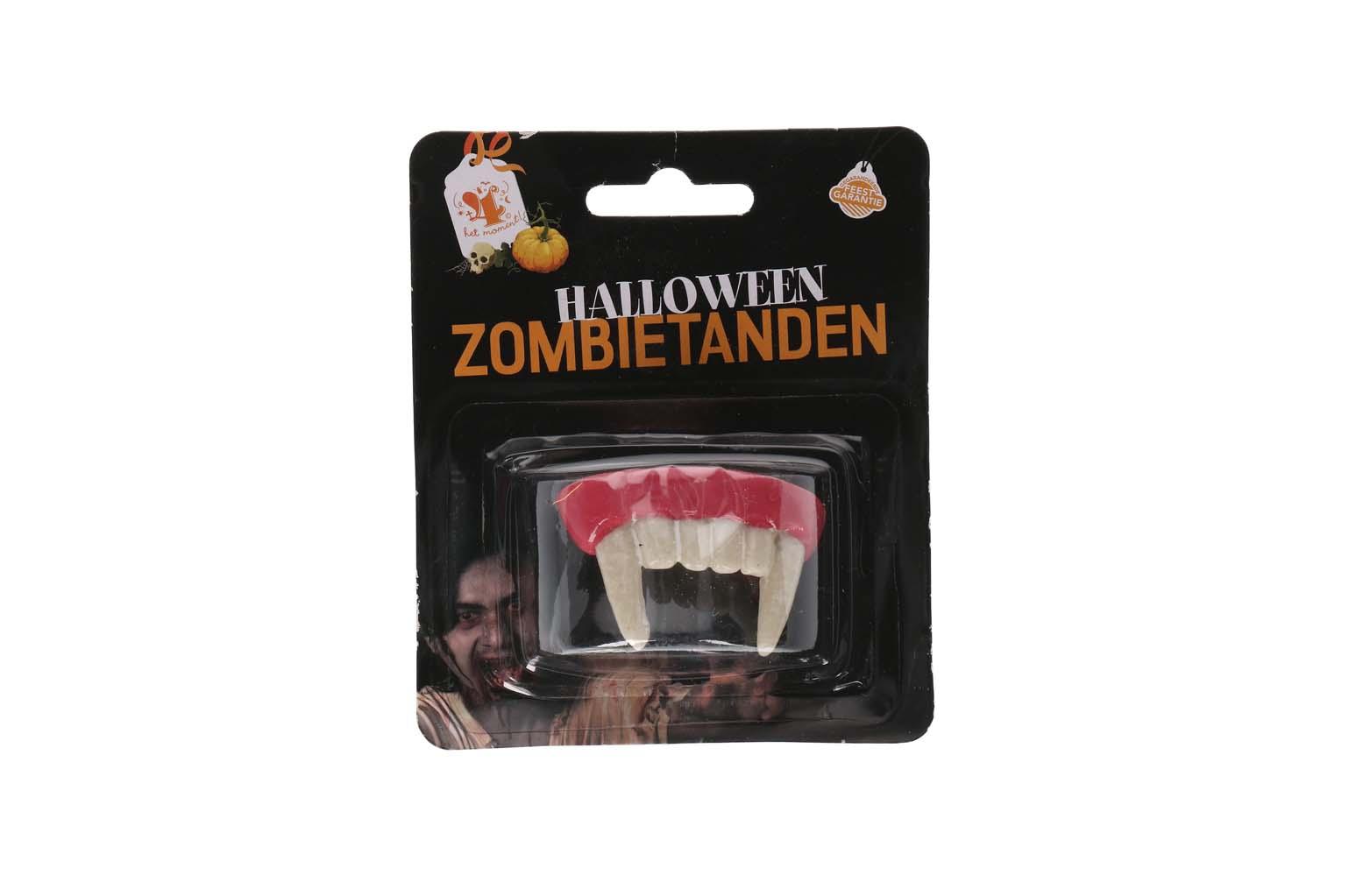 Vampiertanden halloween