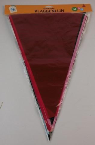 Vlaggenlijn div kleuren xl