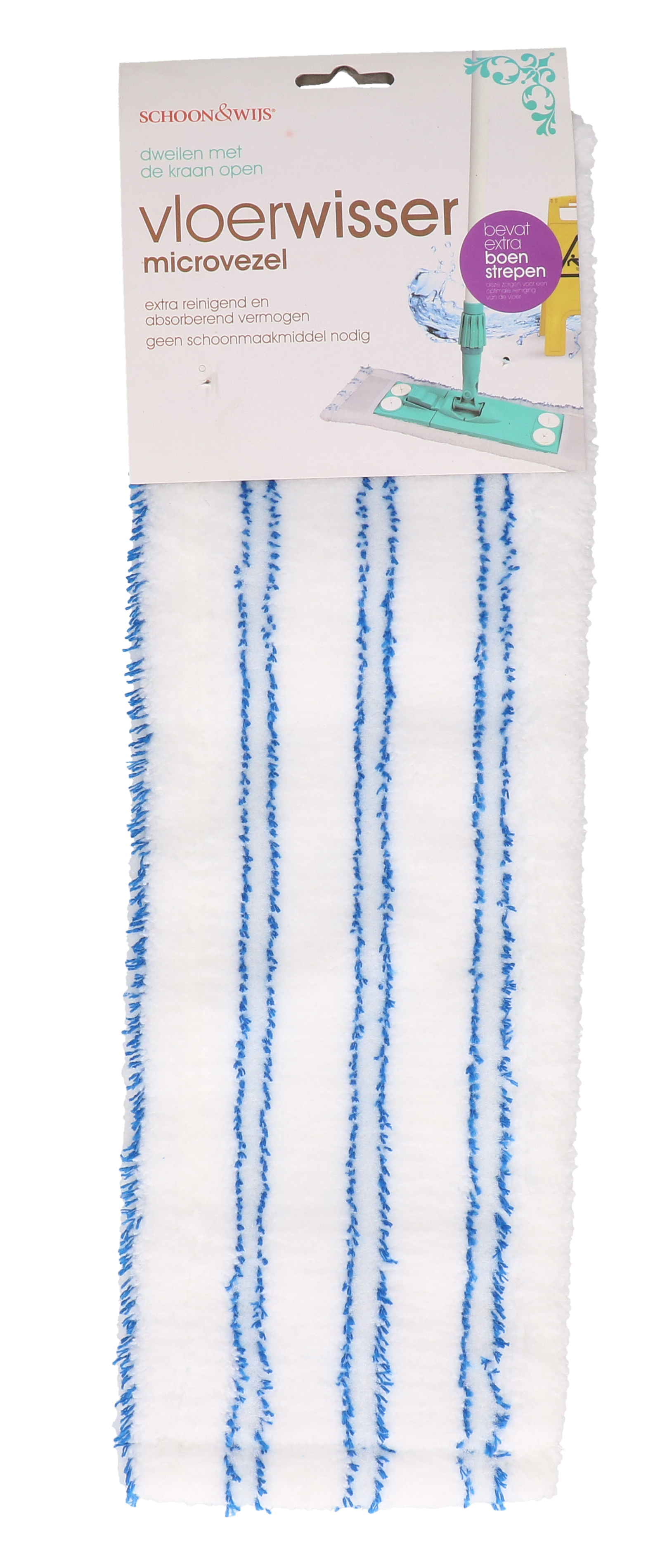 Vloerwisser streep/multi
