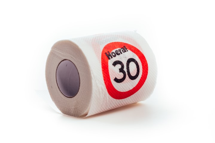 WC-rol 30 Jaar