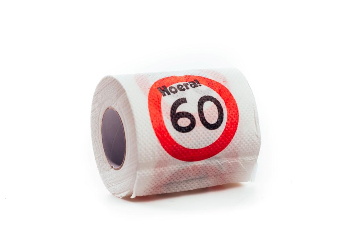 WC-rol 60 Jaar