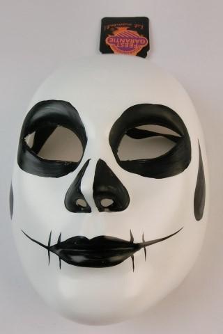 Wit/zwart masker