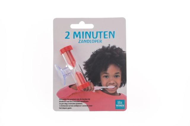 Zandloper voor tandenpoetsen