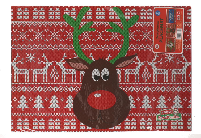 Foute kersttrui placemats