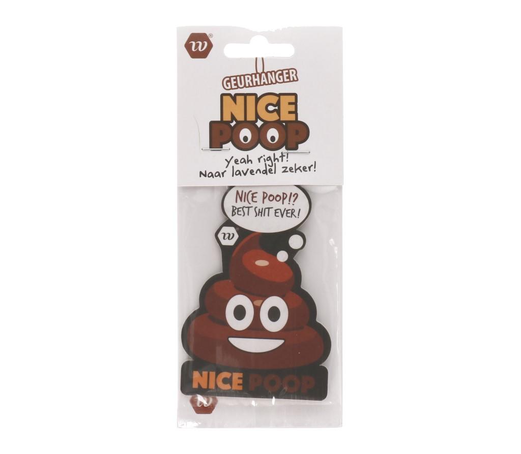 Geurhanger poop emoticon