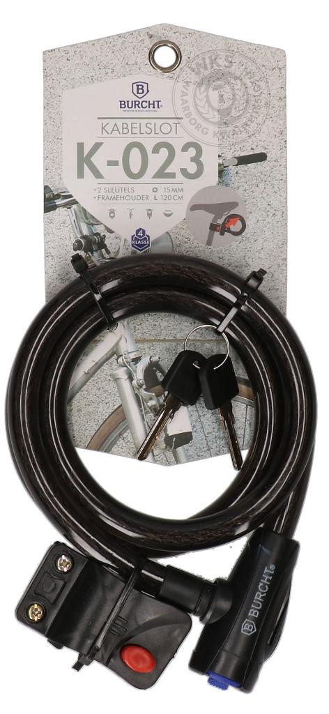 Kabel slot 15mmx120cm (K-023)