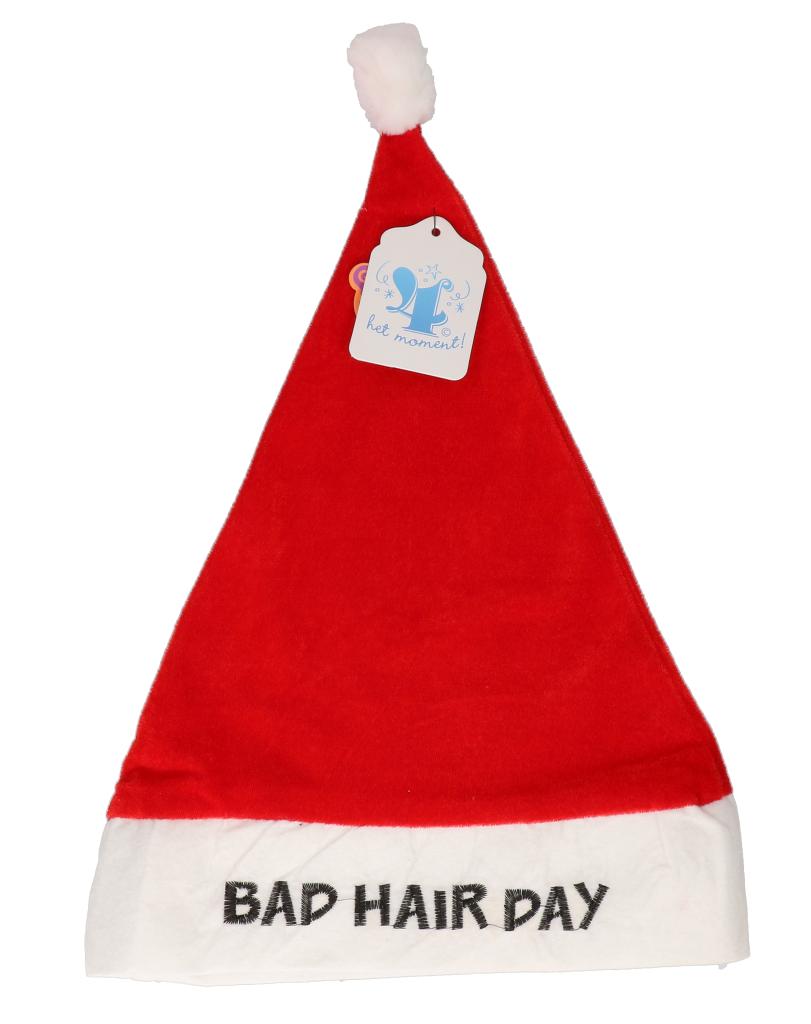 """Kerstmuts """"bad hair day"""""""