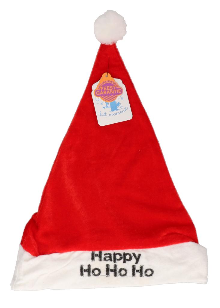 "Kerstmuts ""happy ho ho ho"""