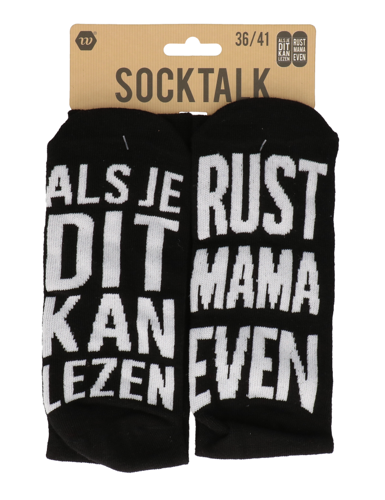 Statement sokken 36-41 rust mama even