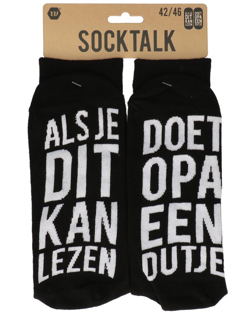 Statement sokken 42-46 opa dutje