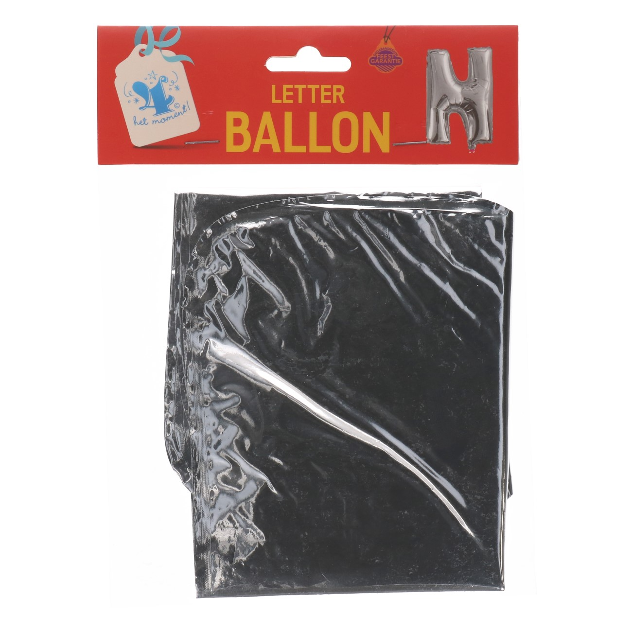 Folieballon letter zilver N
