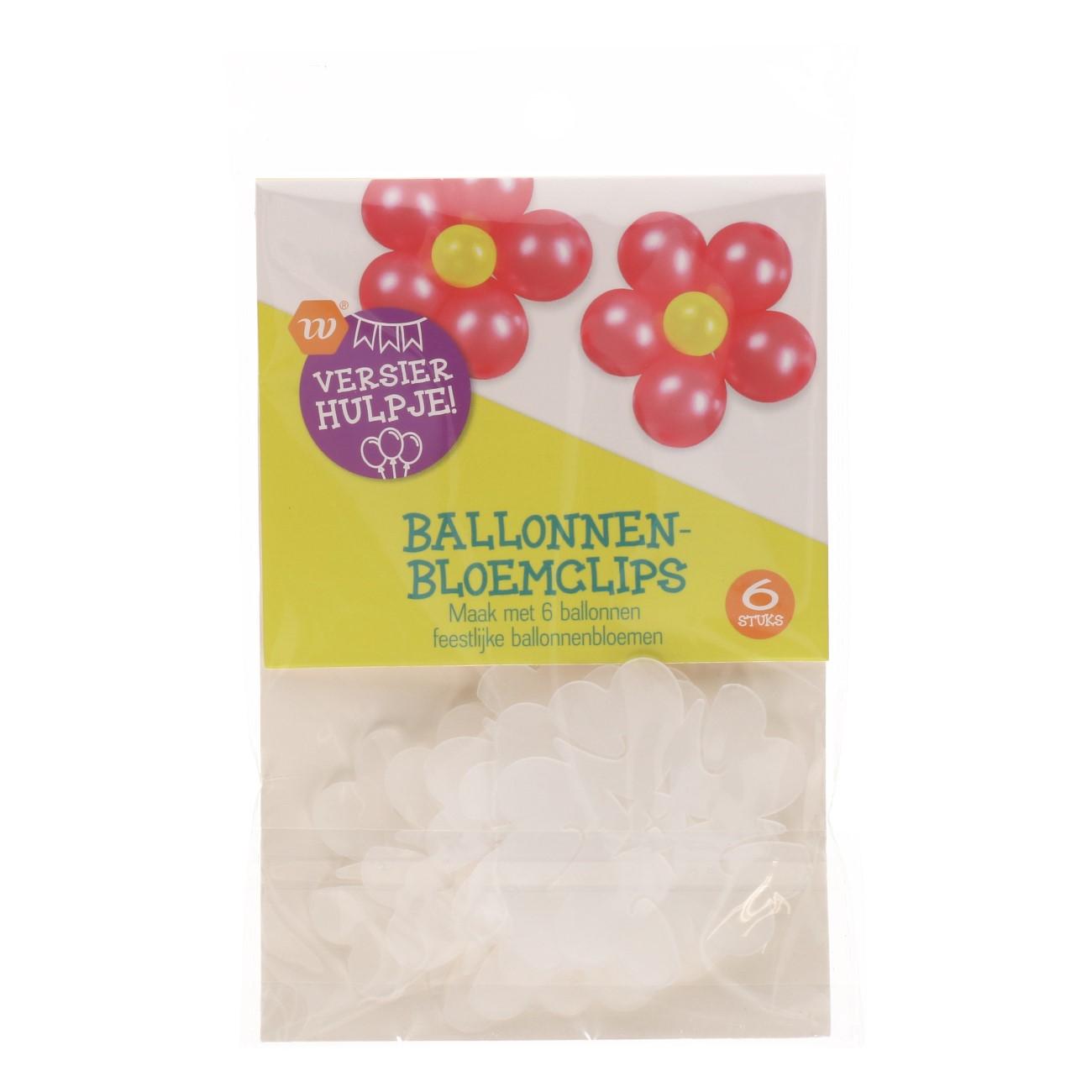 Ballonnen-bloemclips