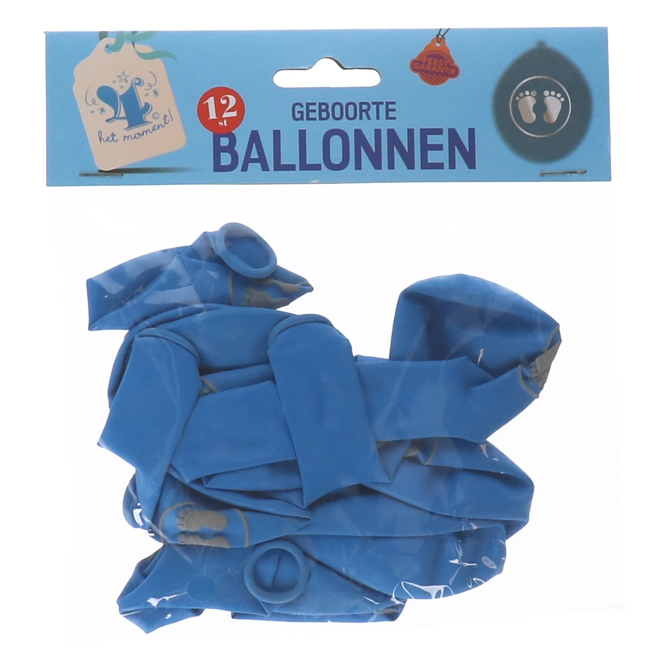 Ballonnen geboorte jongen 12 st