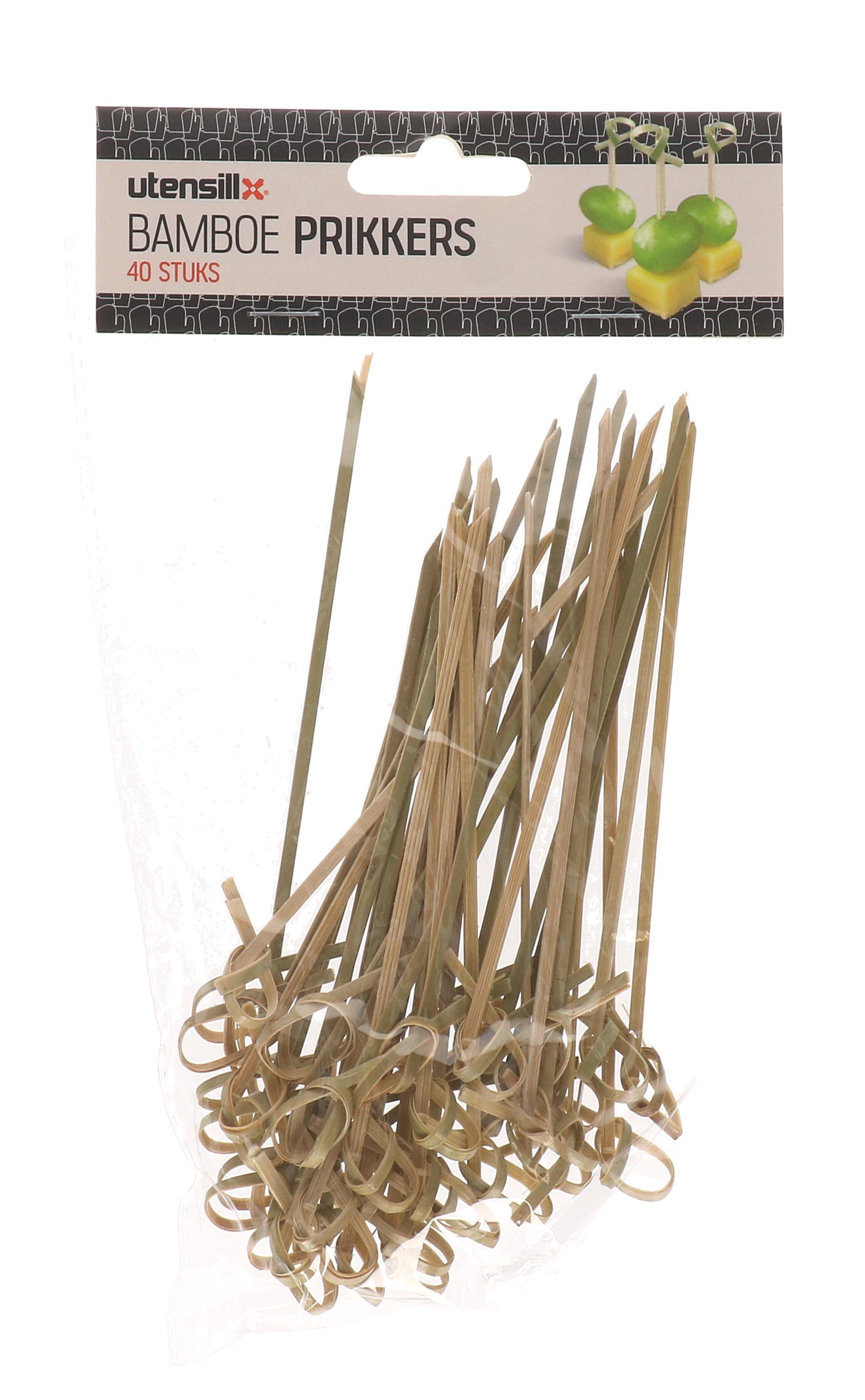 Bamboe spiesjes 40 stuks