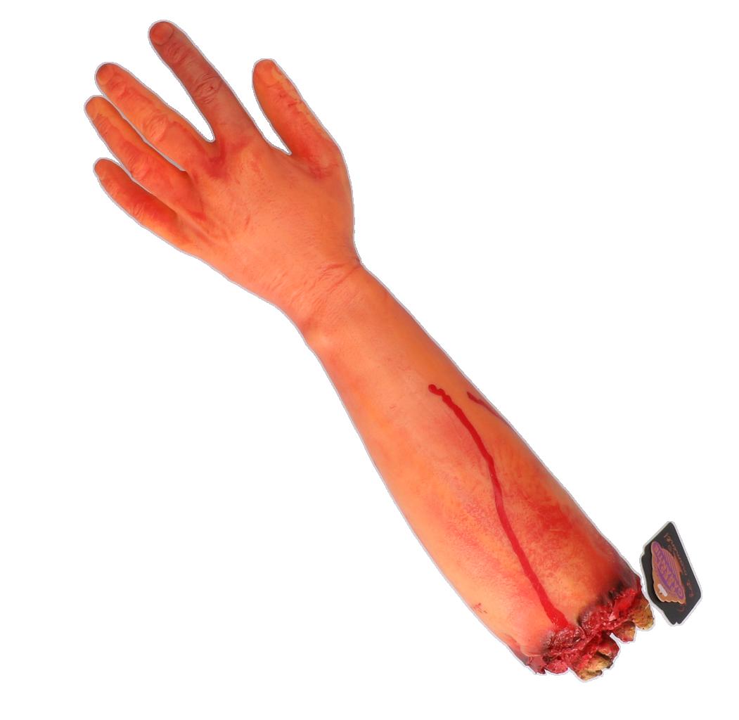 Bloederige arm