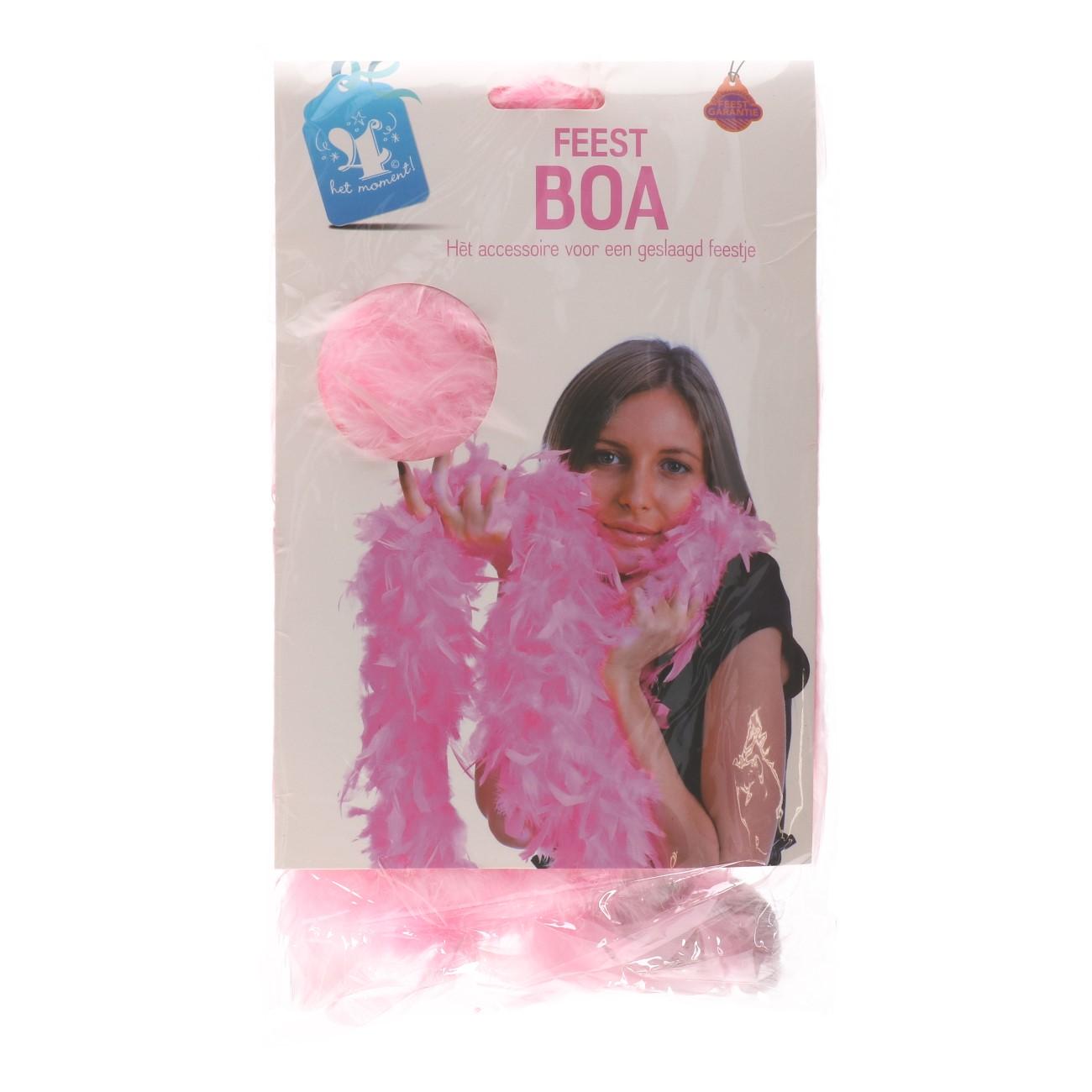 Boa licht roze
