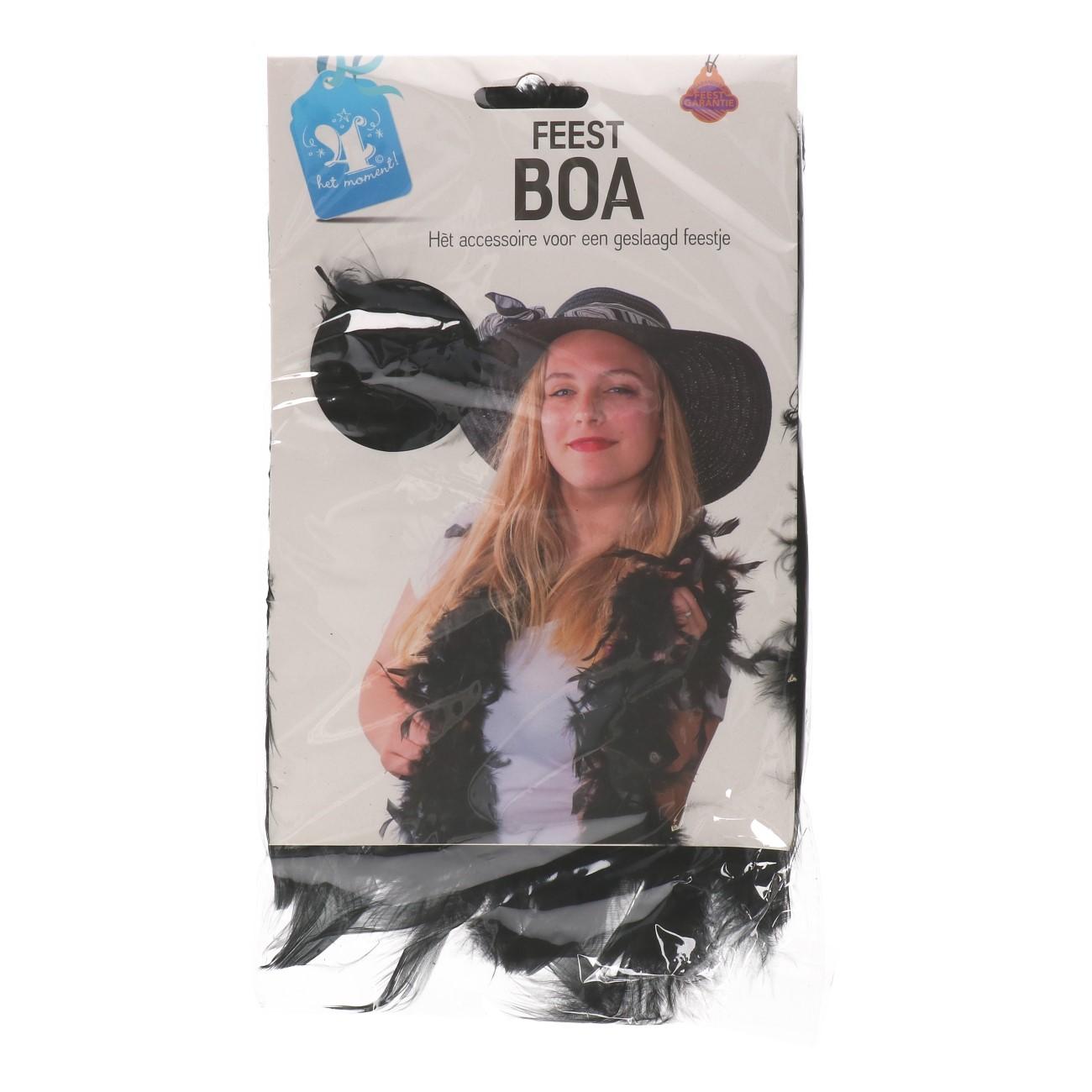 Boa zwart