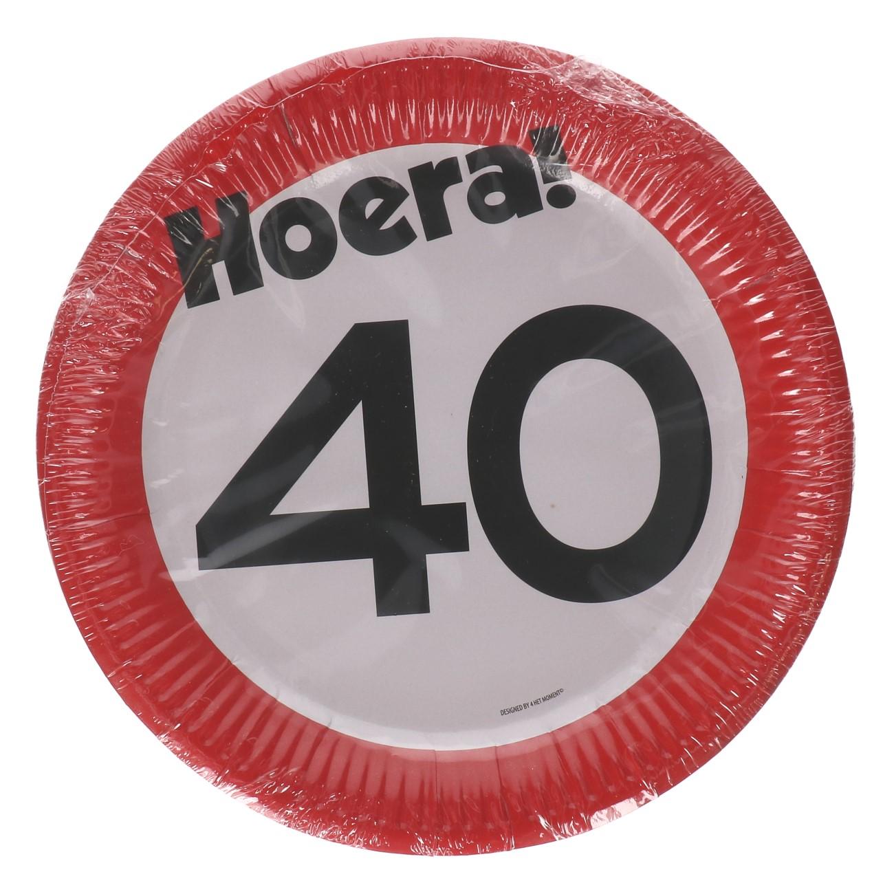 Bordjes 40 jaar