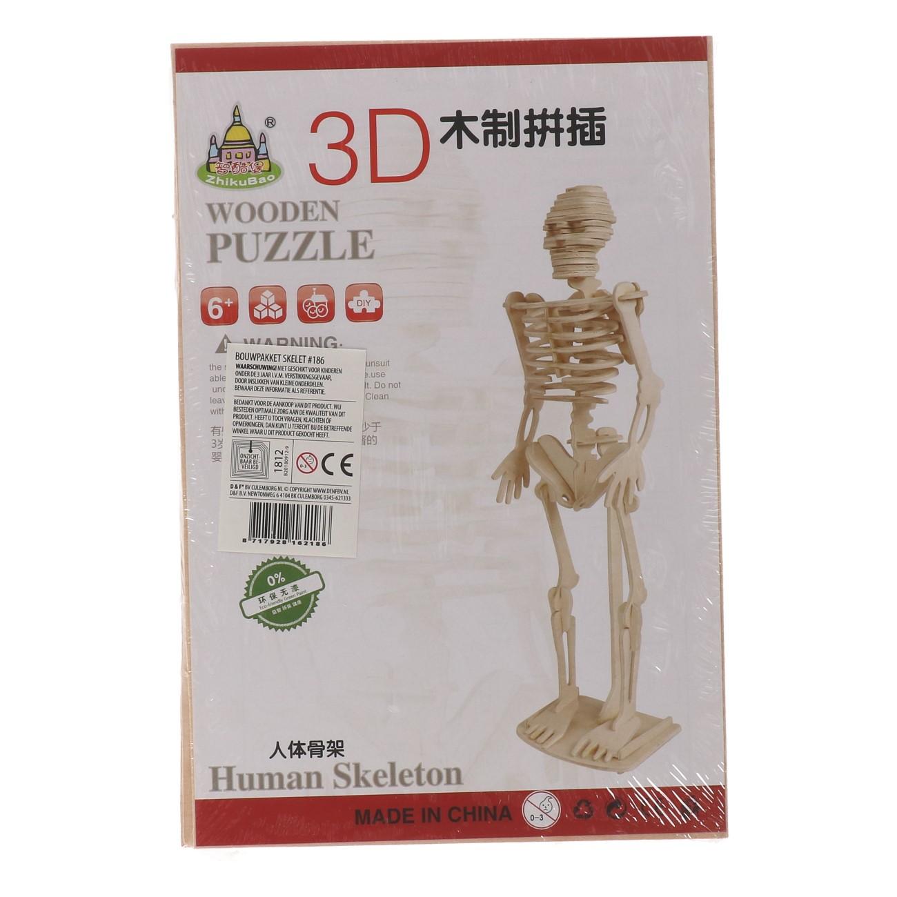 Bouwpakket skelet #186