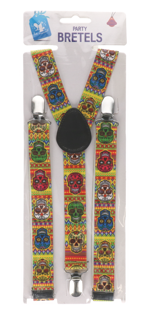 """Bretels """"day of the dead"""""""