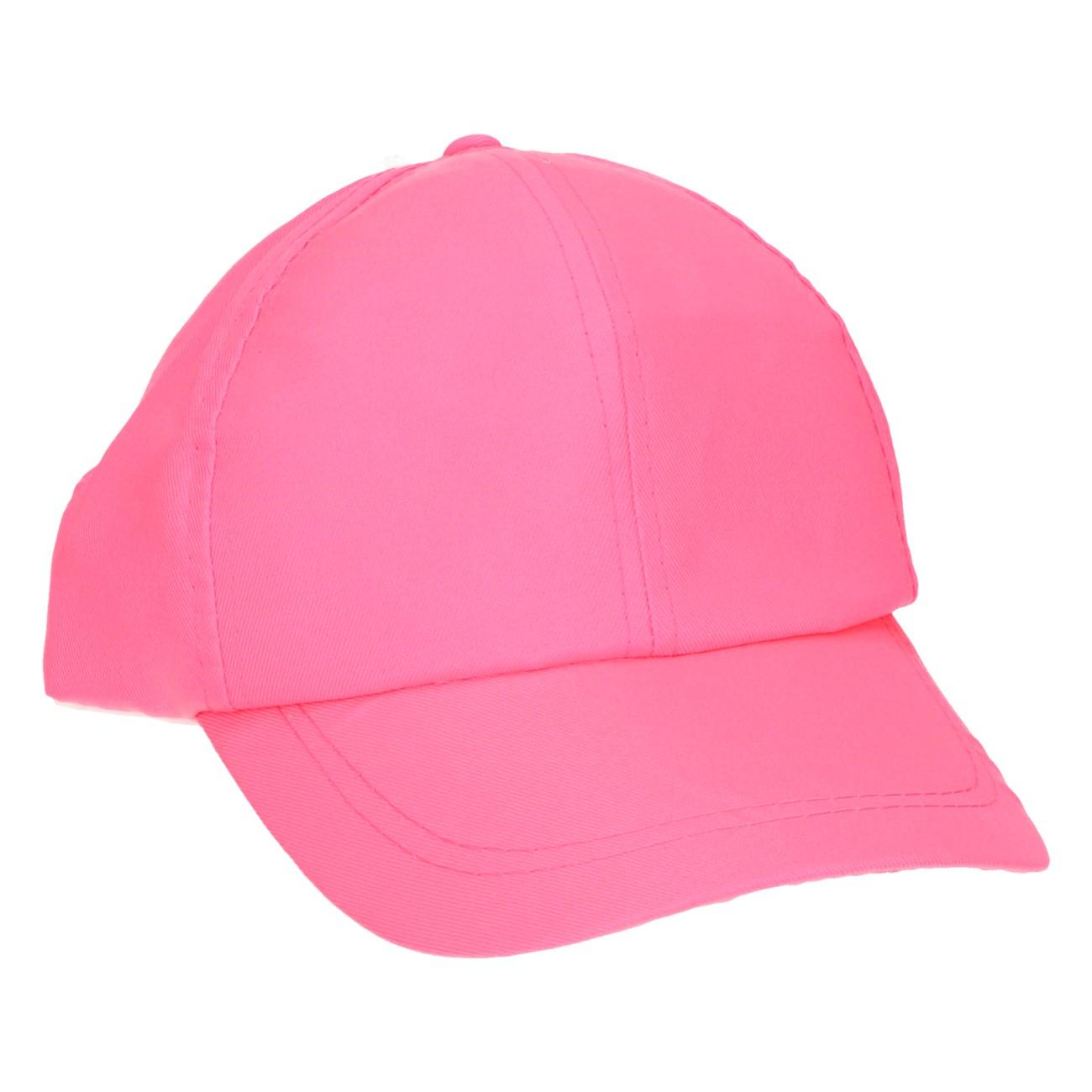 Cap neon roze