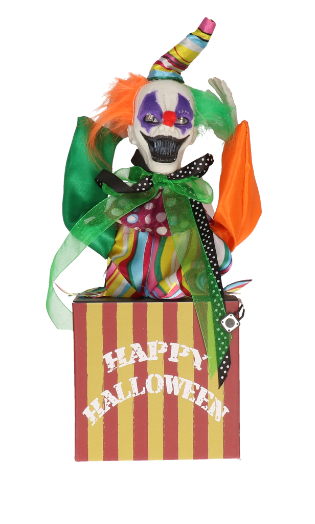 Clown in box