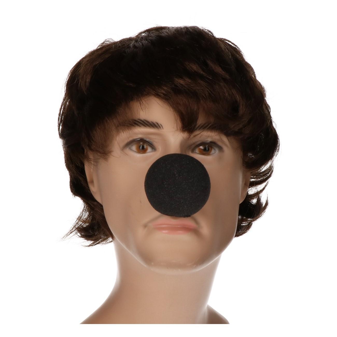 Clowns neus zwarte