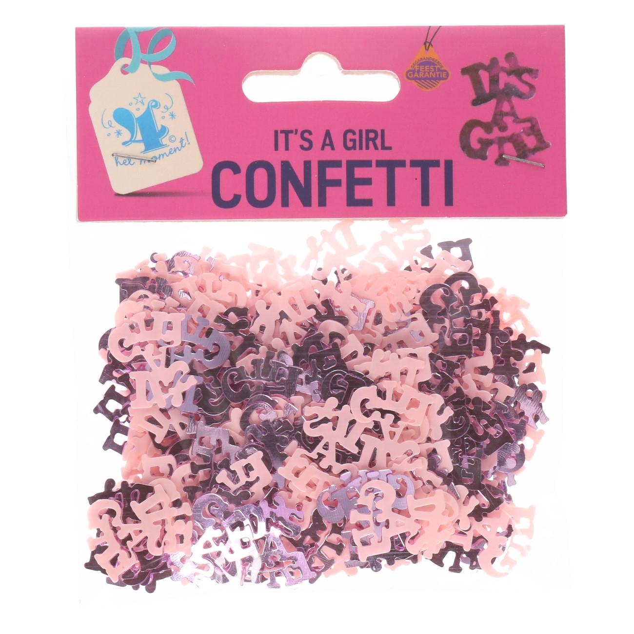 Confetti it`s a girl