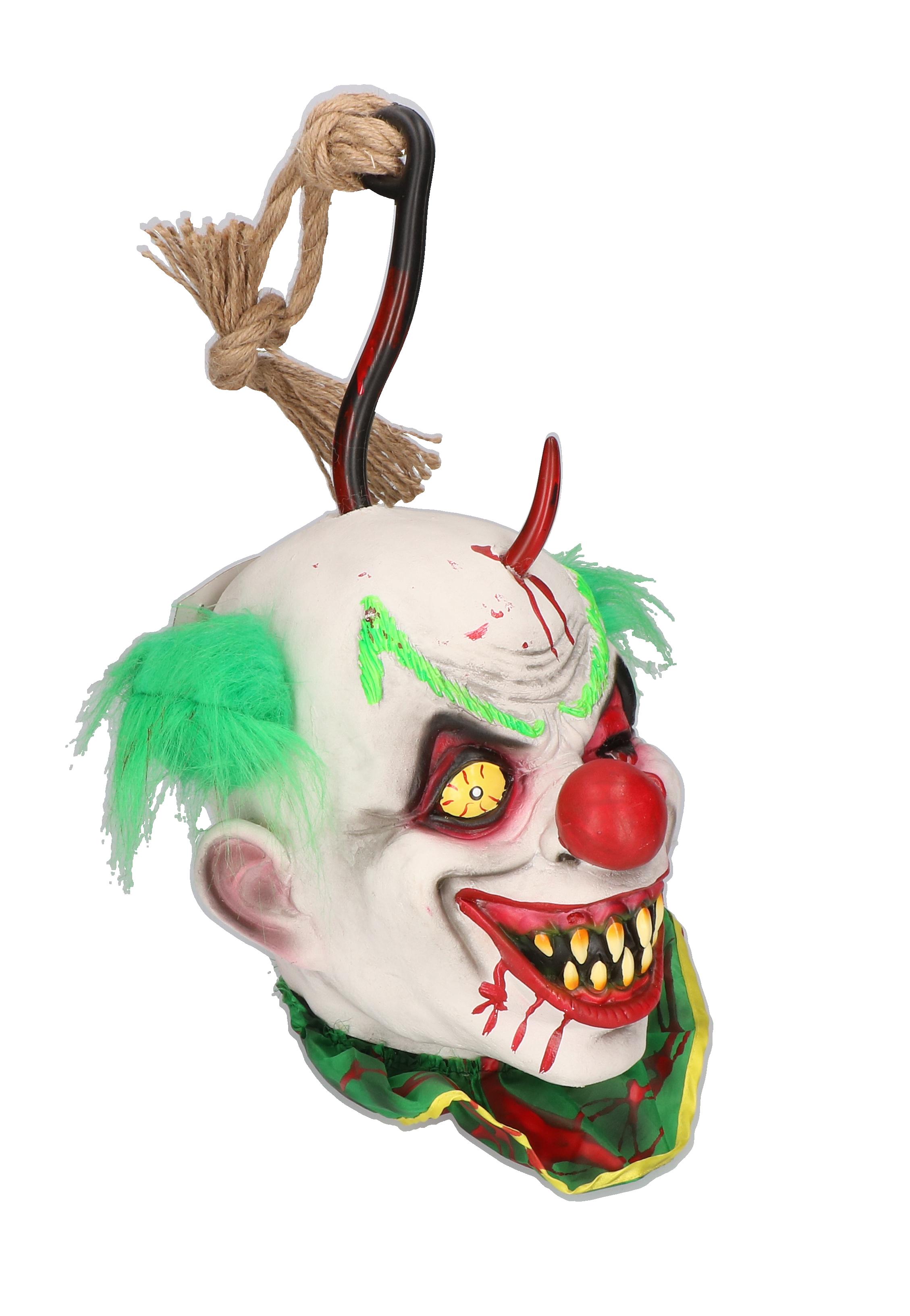 Decoratie horror clown