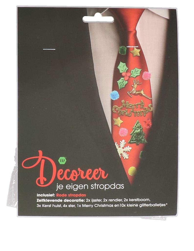 Decoreer je eigen kerst stropdas