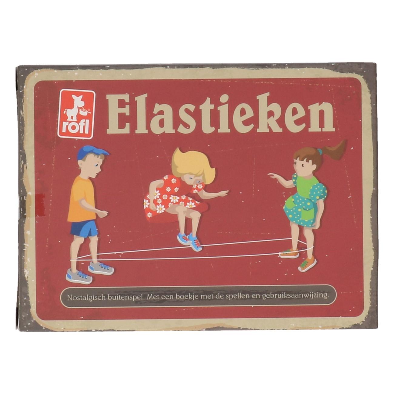Elastieken retro speelgoed