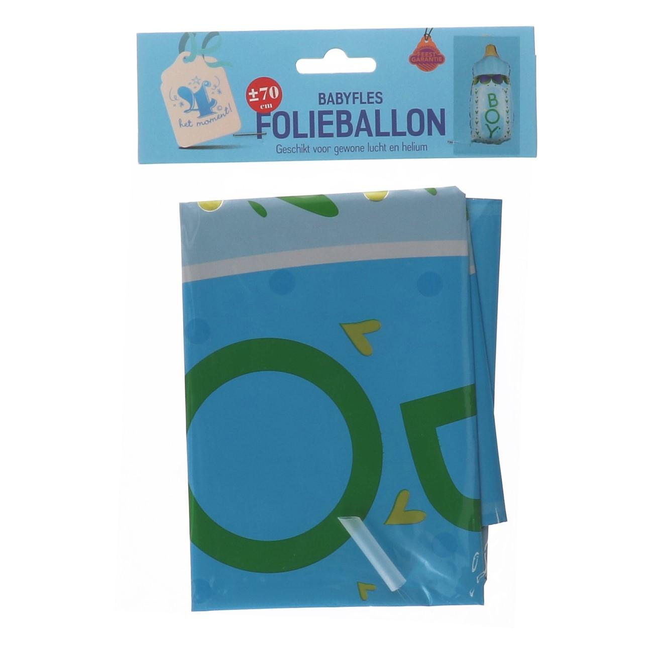 "Folieballon ""babyfles"" boy"