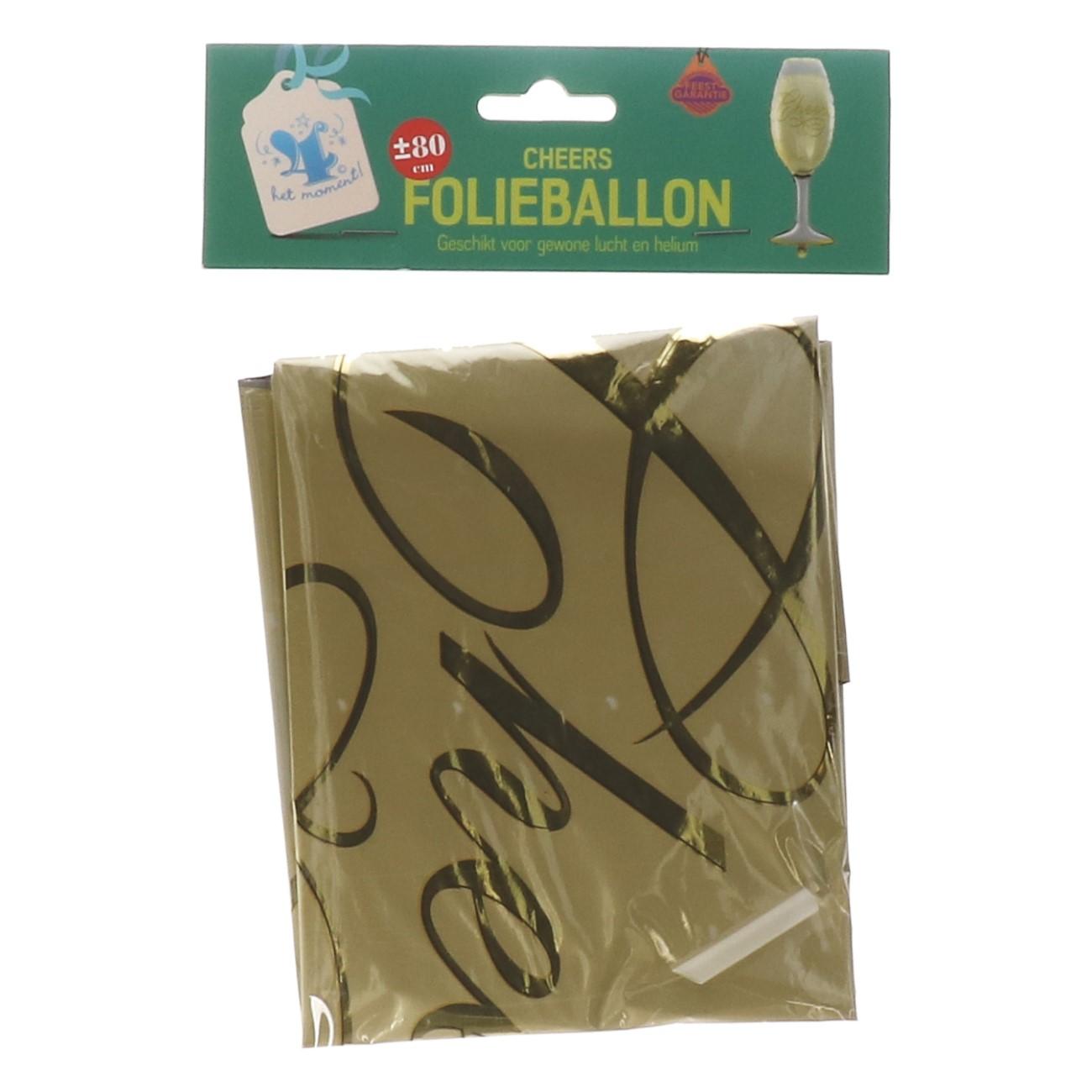 "Folieballon ""cheers"""