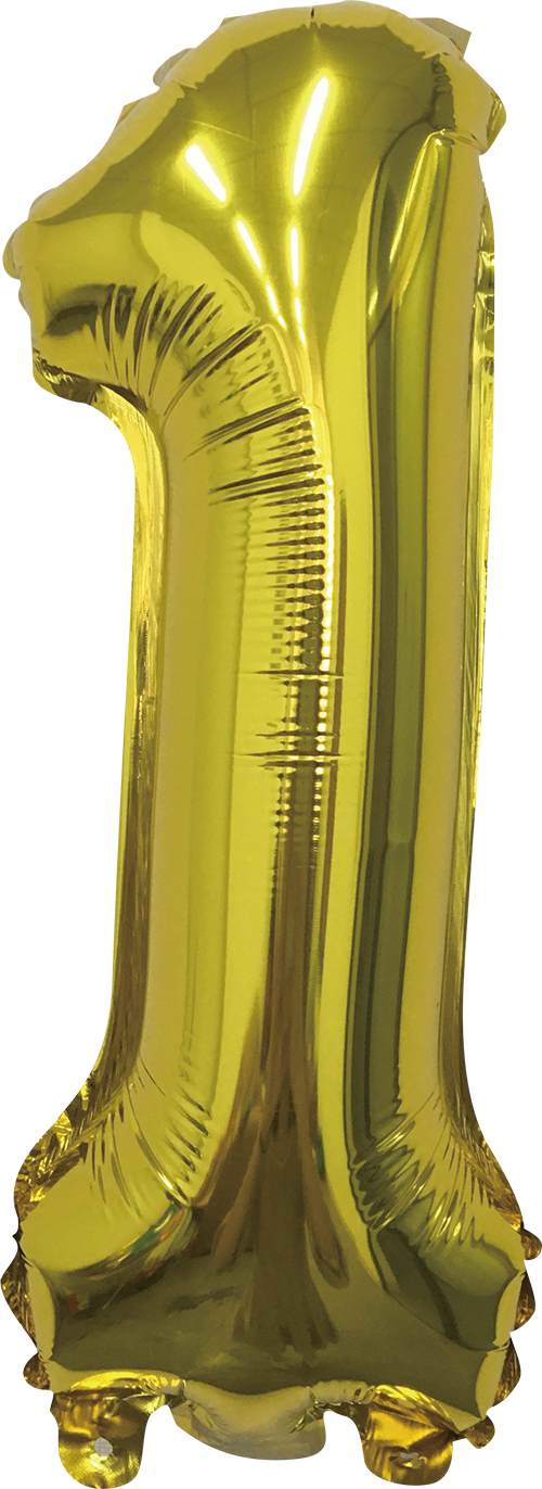 Folieballon goud xl 1