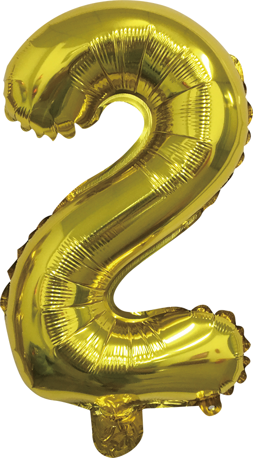 Folieballon goud xl 2