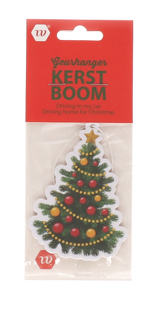 Geurhanger kerstboom