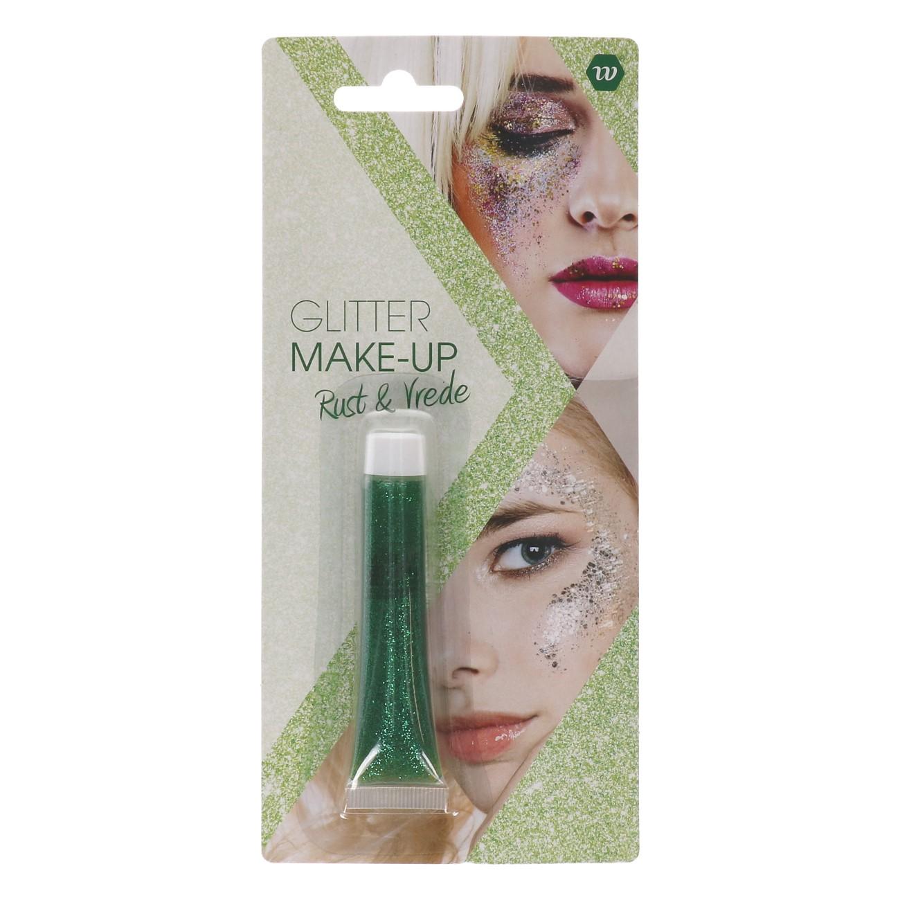 Glitter Make-up Rust & Vrede (Groen) 14gr