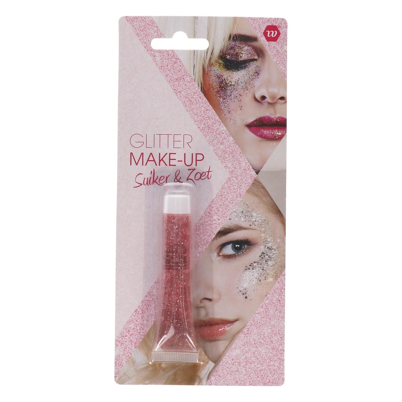 Glitter Make-up Suiker & Zoet (Licht roze) 14gr