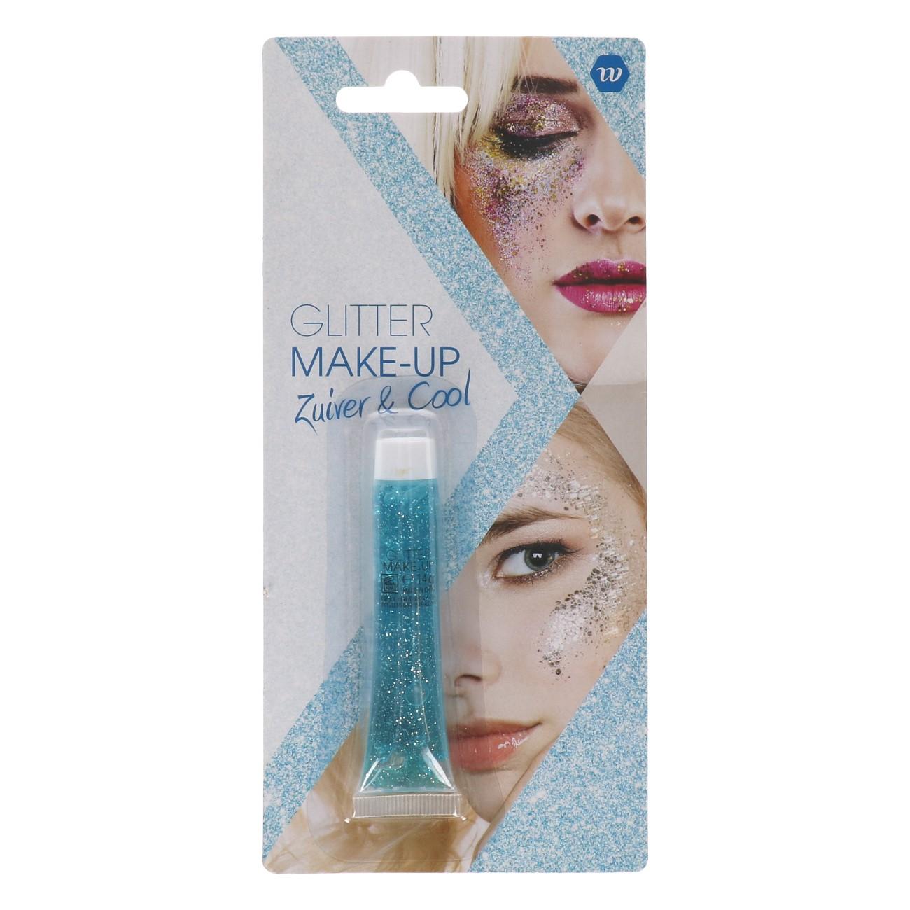 Glitter Make-up Zuiver & Cool (Blauw) 14gr