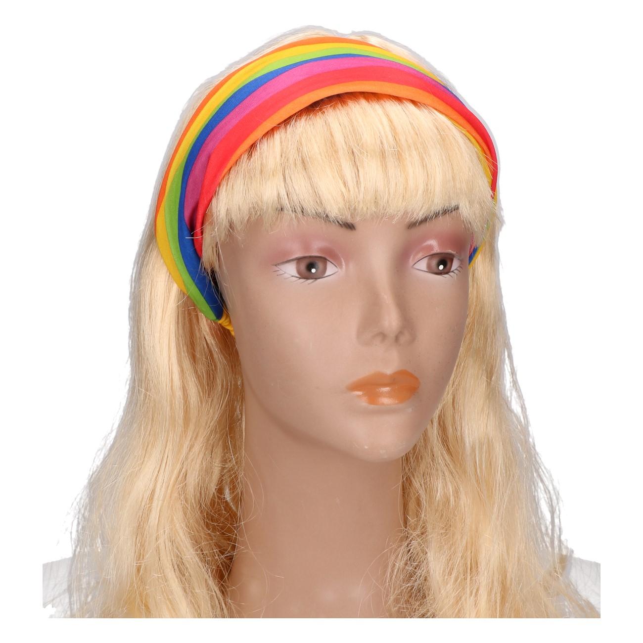 Haarband regenboog