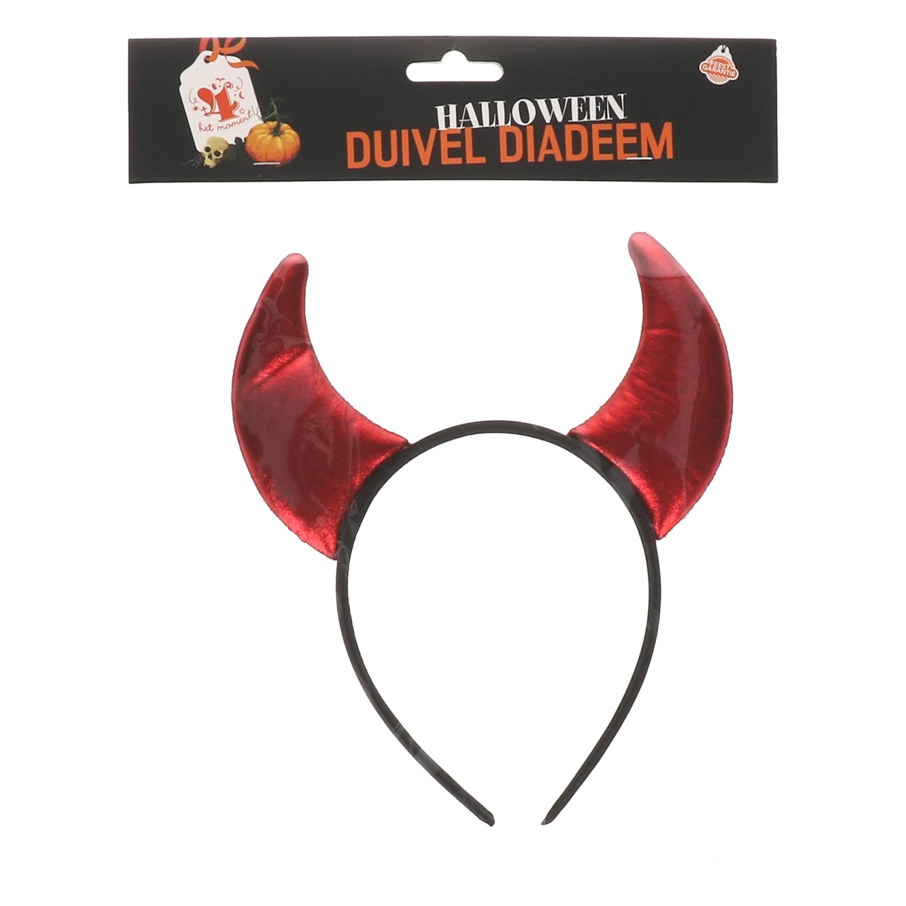 Halloween duivel diadeem