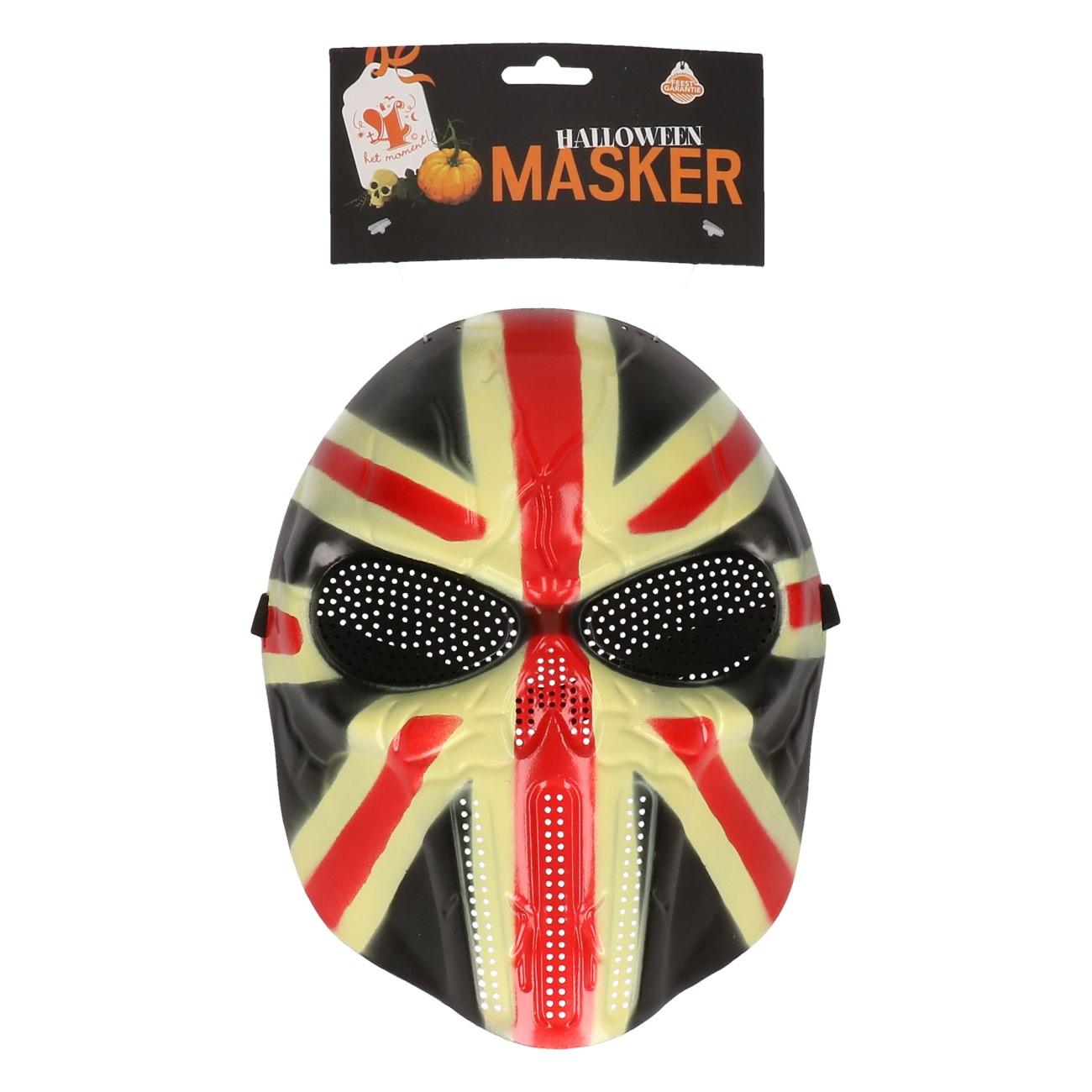 Hockey Masker vlag UK