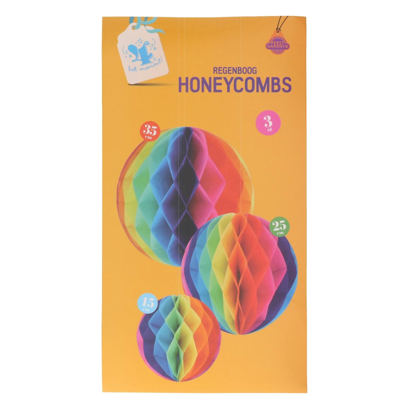 Honeycomb regenboog