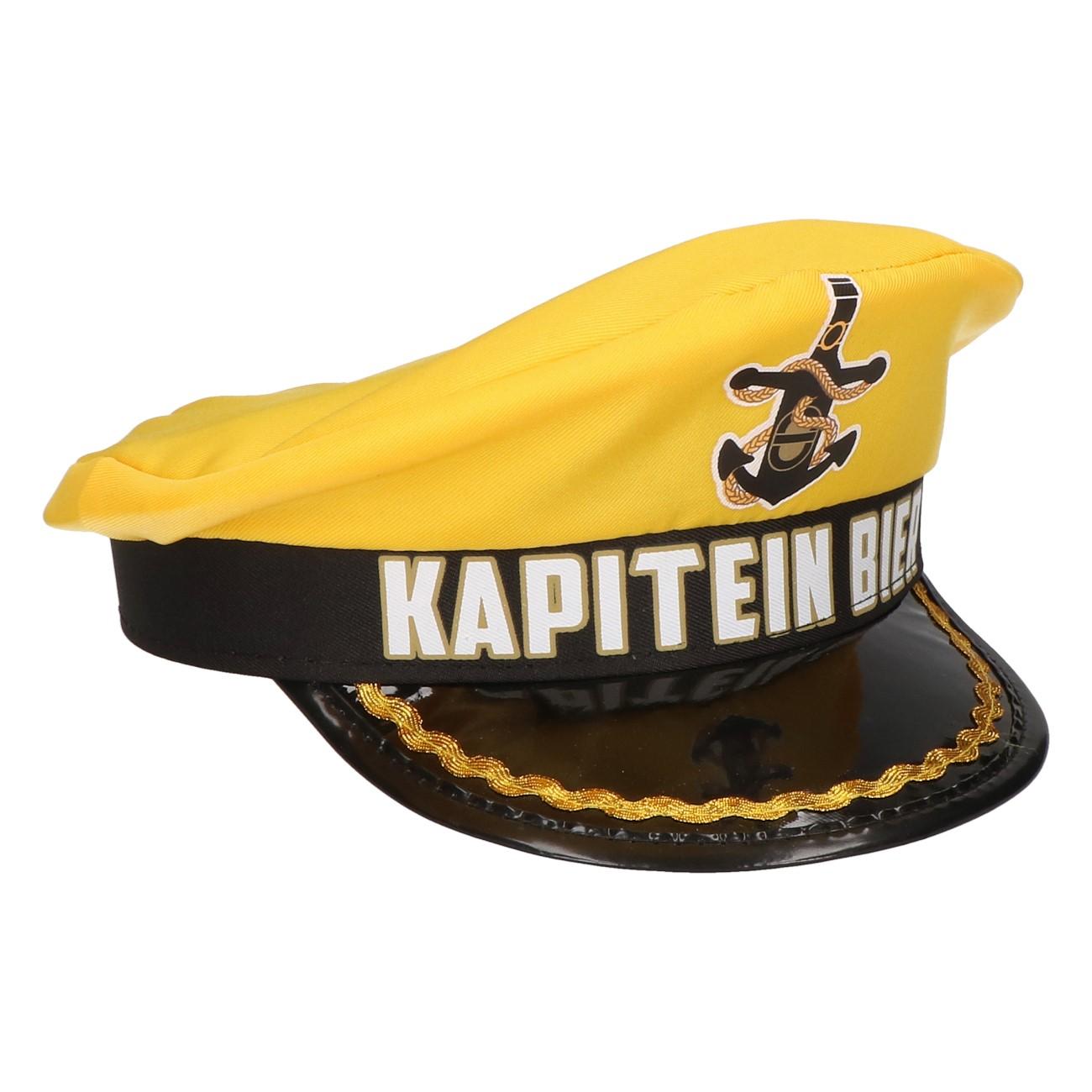 Kapiteinspet oranje