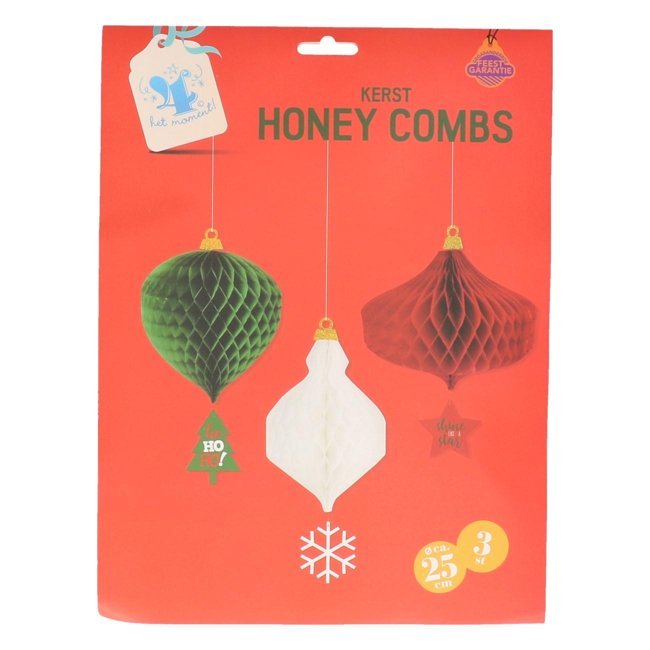 Kerst honey combs