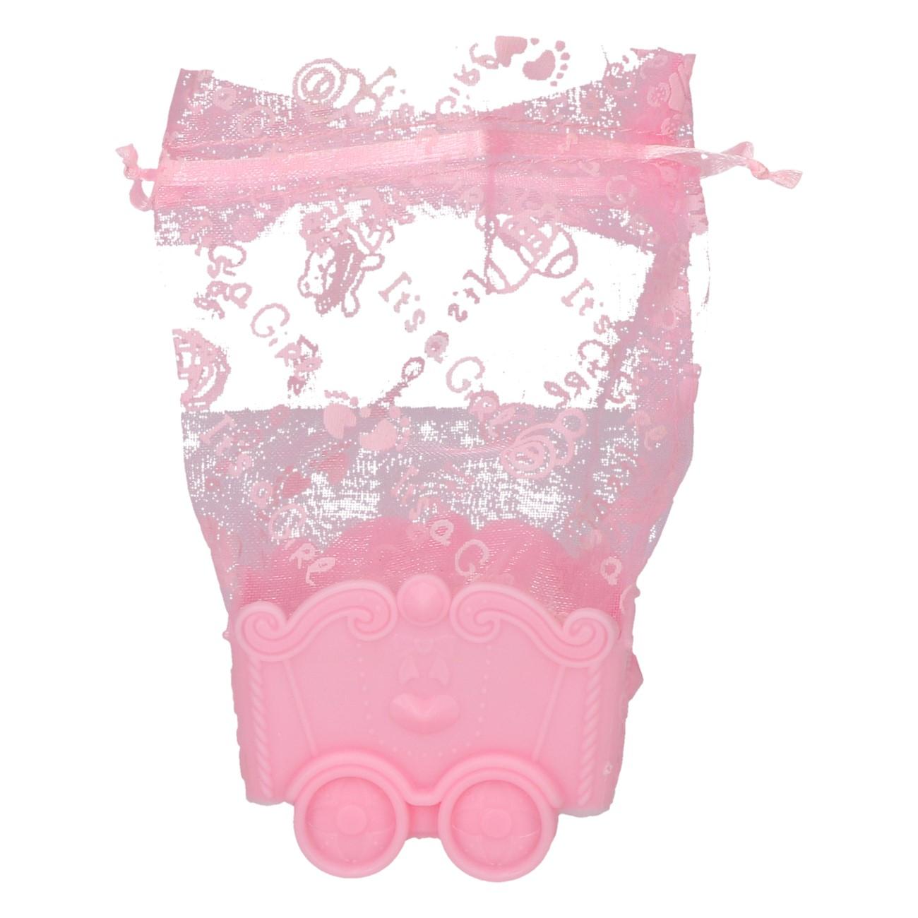 Kinderwagentje roze