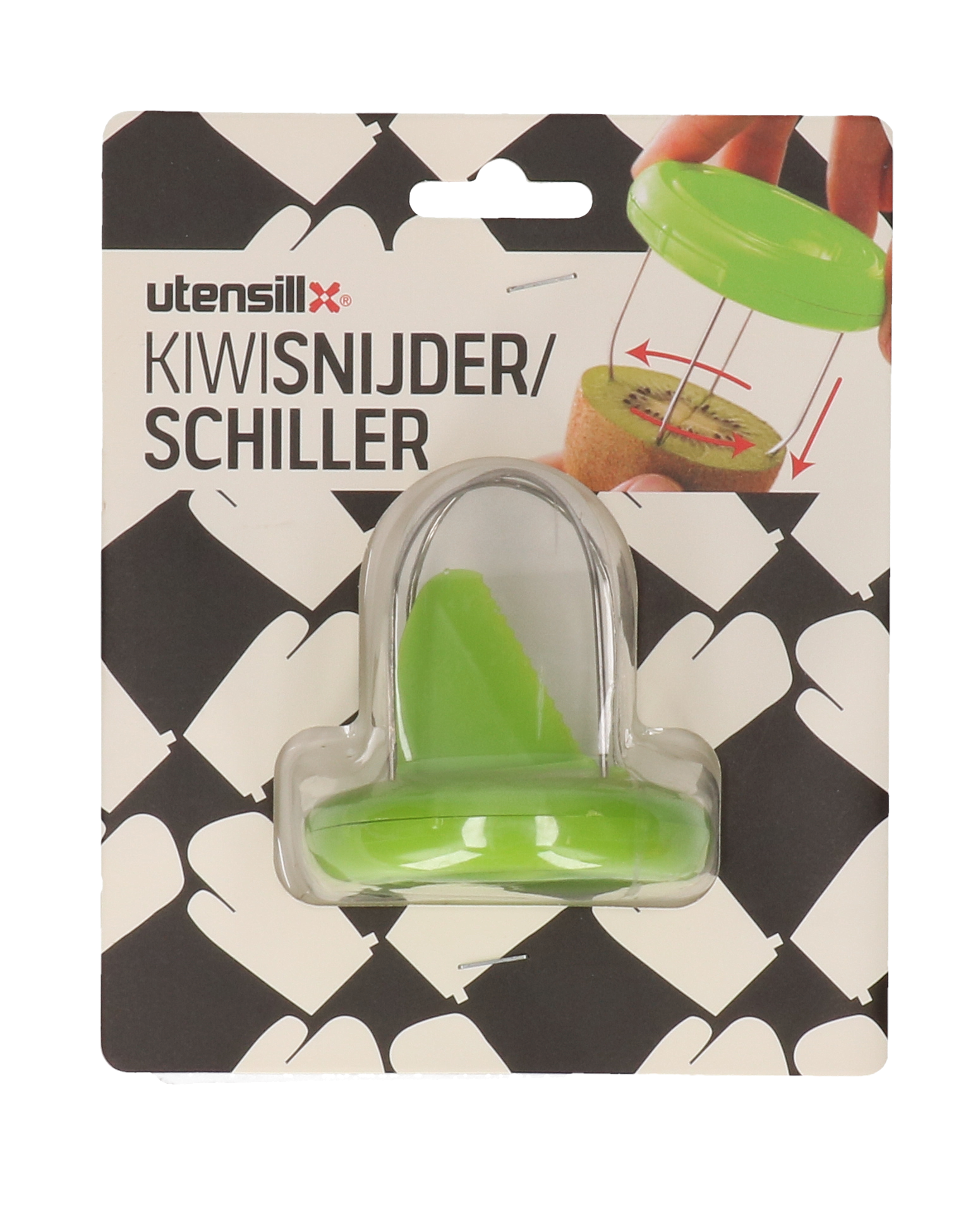 Kiwi snijder/schiller