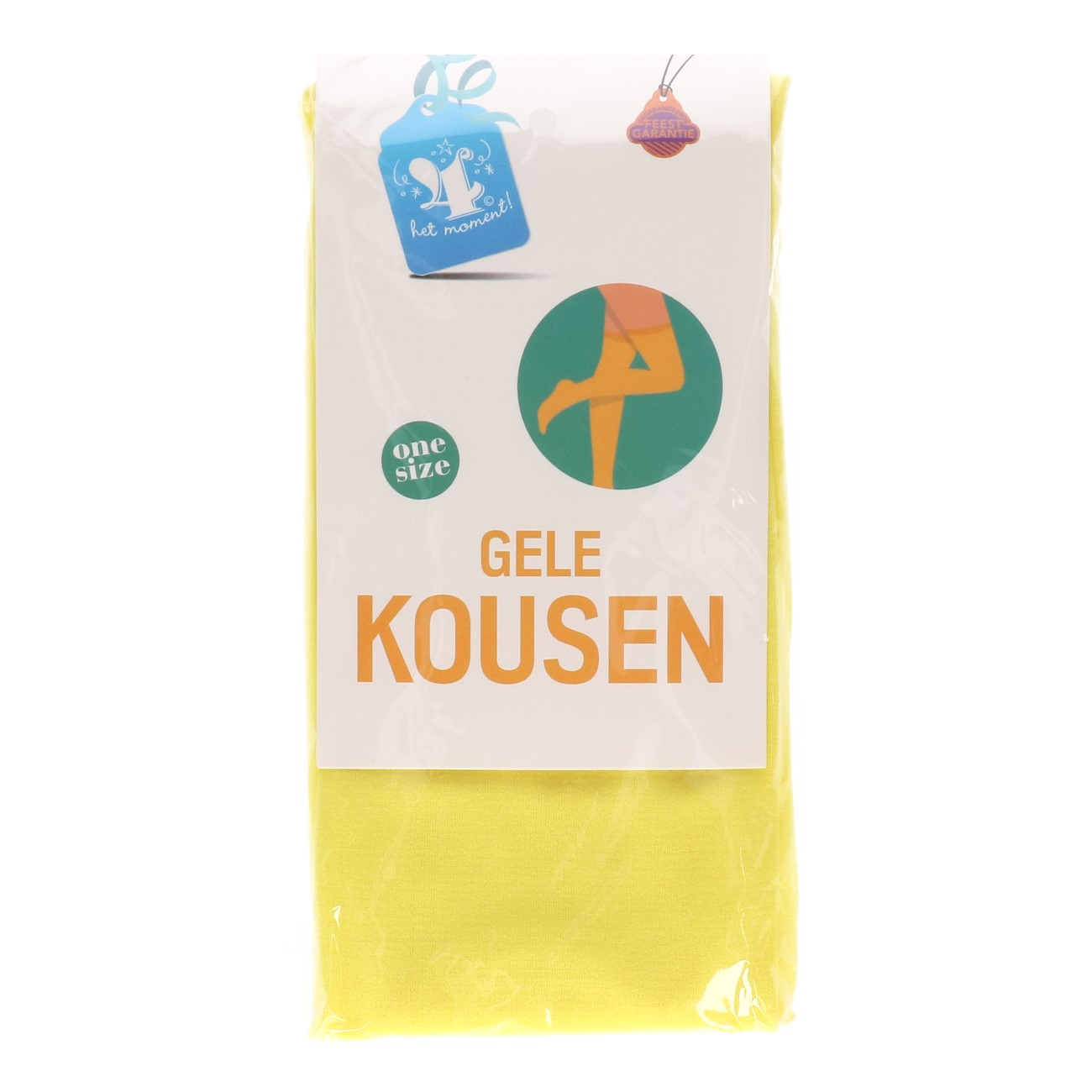 Kousen gele one size