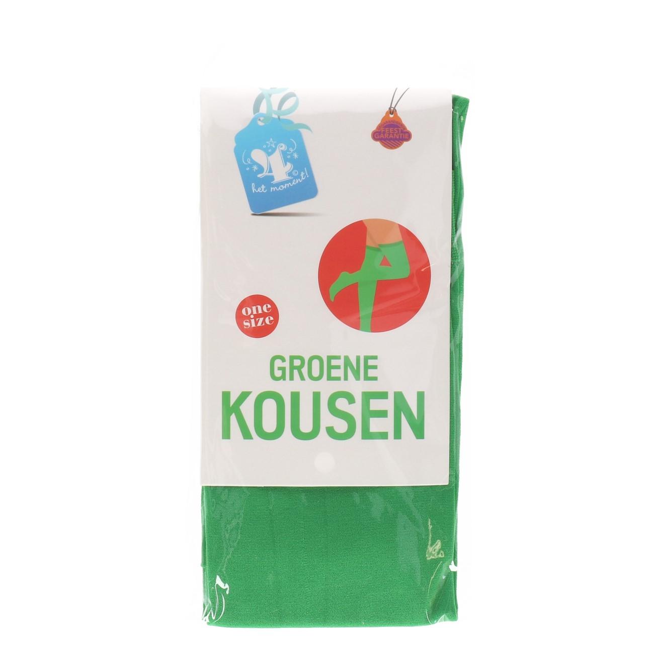 Kousen groene one size