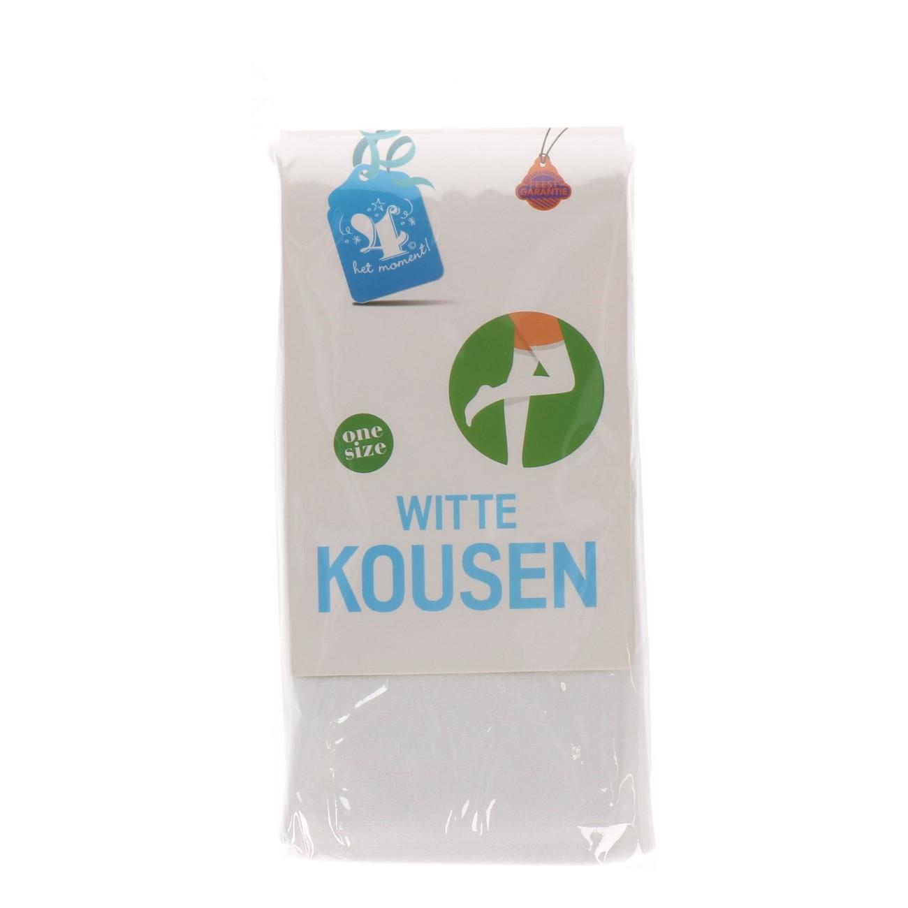 Kousen wit one size